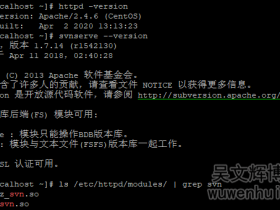 CentOS7.6搭建SVN+Apache+iF.SVNAdmin实现web管理SVN